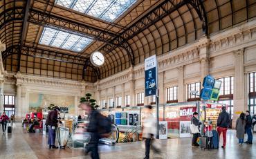 Intérieur Gare Bordeaux