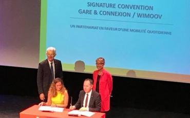 Signature d'un partenariat avec Wimoov