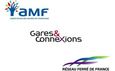 Logo l'AMF, RFF et Gares & Connexions