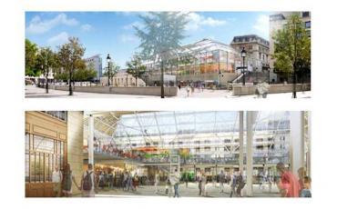 Dessin nouvelle gare de Lyon