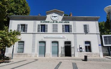 Photo de la gare de Marseille Blancarde