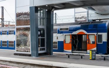 Accessibilité en gare de Corbeil Essonnes