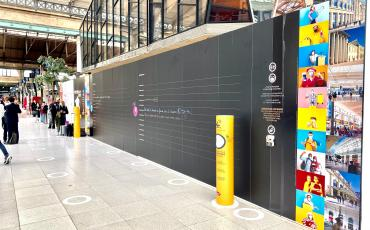Mur d'expression Paris Nord