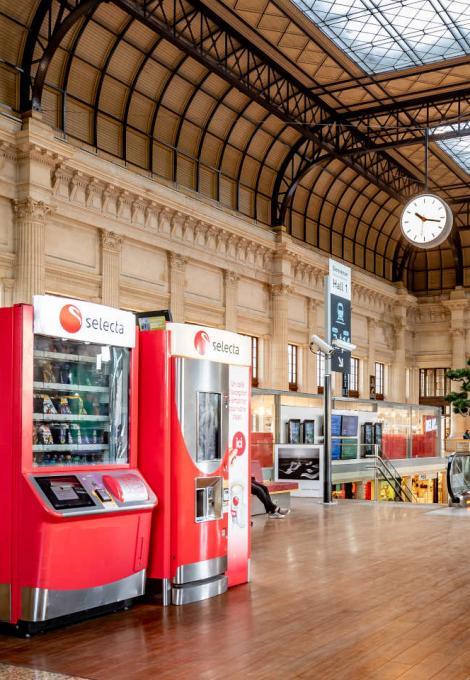 Gare de Bordeaux interieur