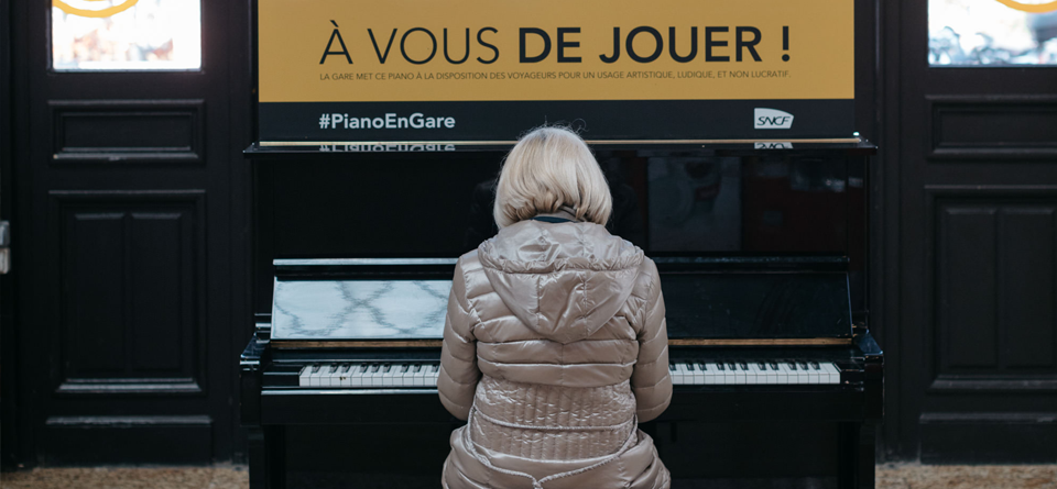 Piano gare de Bordeaux